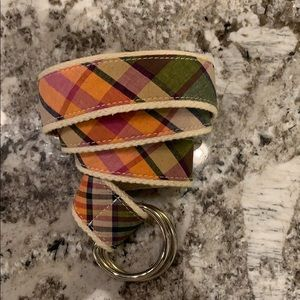 J. Crew Accessories - EUC JCrew canvas belt